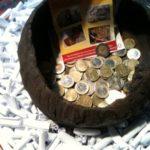 Un euro le ticket. Une chance sur 3 de gagner un lot. De toute façon, un don à CIMA!
