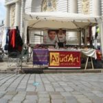 Be a member of Ayud'Art can also consist in holding a stand