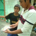 Les jeunes du centre participent activement à la mise en œuvre de tout le processus : du choix des semences