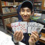 de jouer aux cartes,