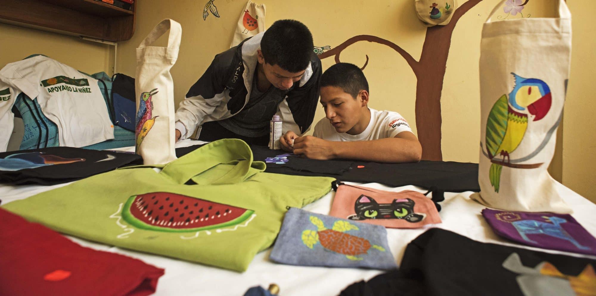 Enfants des rues du Pérou